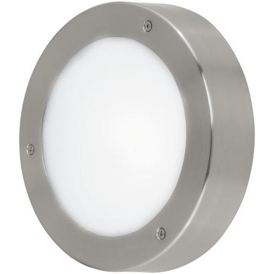 EGLO Wandleuchte Vento 2 LED, edelstahl