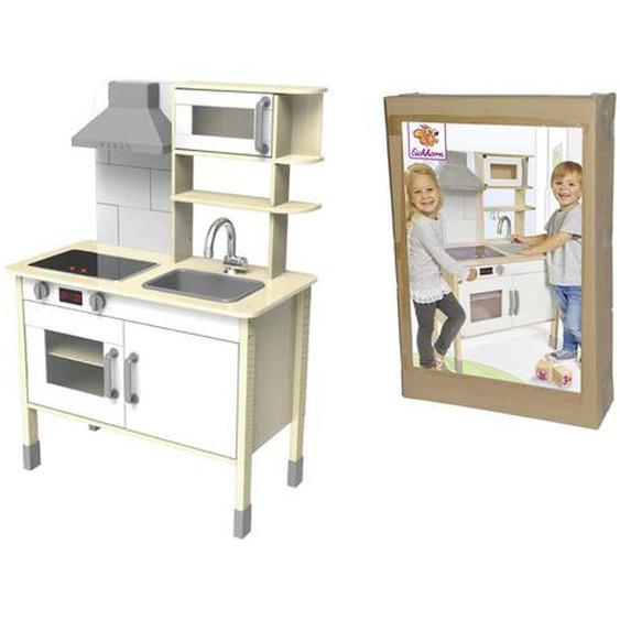 Eichhorn Kinderküche , Beige , Holz , Kiefer, Linde , 69x99.5x36 cm