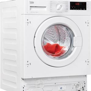 BEKO Einbauwaschmaschine WMI 71433 PTE, weiß, Energieeffizienzklasse: A+++