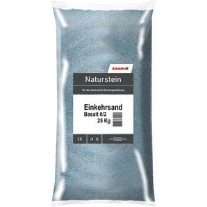 Einkehrsand 0/2 mm 25 kg anthrazit