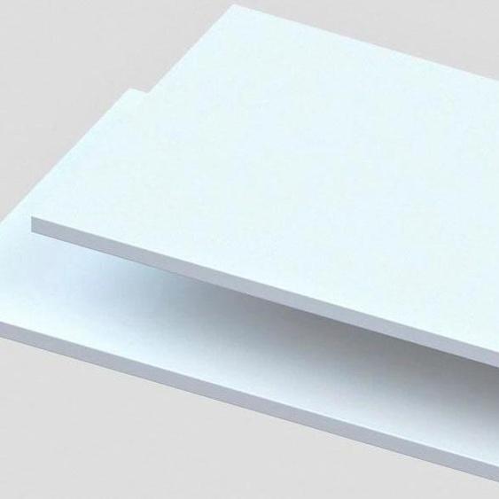 Einlegeboden 83x46,5x2,2 cm weiß Zubehör für Kleiderschränke Möbel Einlegeböden