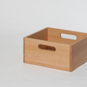 Einschubbox für Stapelbox Wasa Braun, 15.5x33x29.5 cm