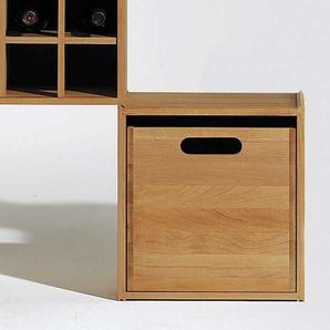 Einschubbox für Stapelbox Wasa Braun, 31x33x29.5 cm