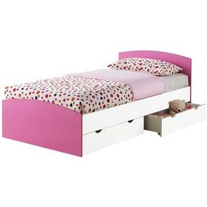 Einzelbett Aaru mit Schubladen