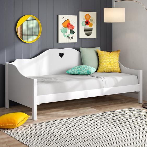 Einzelbett Aldridge, 90 x 200 cm