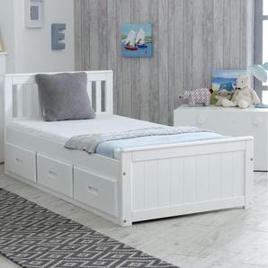 Einzelkabinenbett mit Schubladen