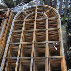 Eisenfenster, stilvolles Fenster wie Fabrik -Scheunen Fenster, westfälisch groß