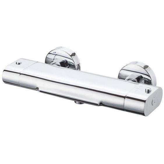 Eisl CARNEO Thermostatarmatur mit Schwallauslauf für die Badewanne