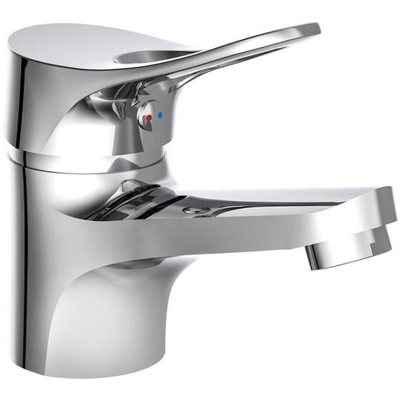 Eisl »VERONA« Waschtischarmatur, mit Ablaufgarnitur, hochglanz-verchromte Armatur, Messing