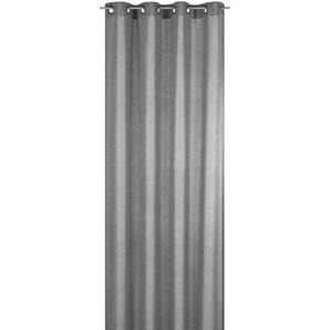 Elbersdrucke Ösenschal Lino 255 x 140 cm grau