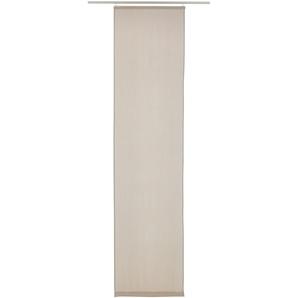 Elbersdrucke Schiebegardine  »LINO«, H/B 245/60 cm, braun, blickdichter Stoff