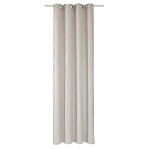 Elbersdrucke Vorhang »LINO«, H/B 255/140 cm, braun, blickdichter Stoff