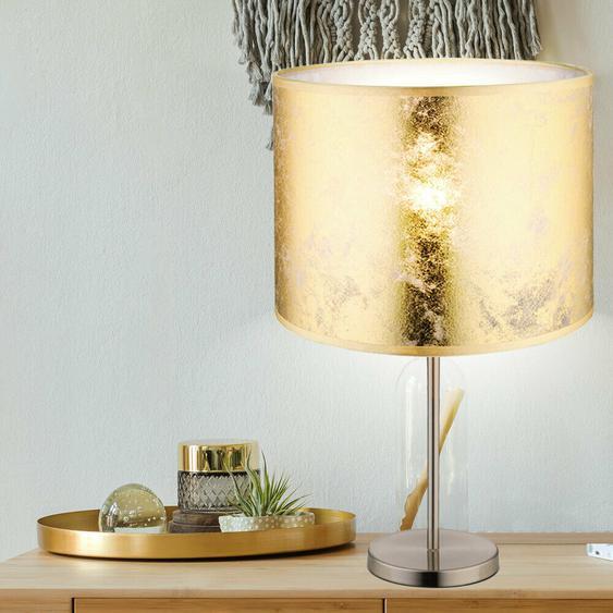 Elegante Schreib Tisch Stand Leuchte Stoff Spielzimmer Büro Lampe Big