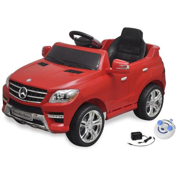 Elektroauto Ride-on Mercedes Benz ML350 Rot 6 V mit Fernbedienung
