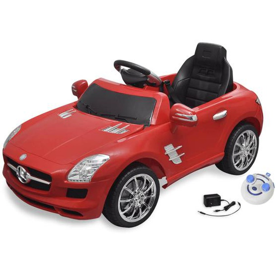Elektroauto Ride-on Mercedes Benz SLS AMG Rot 6 V mit Fernbedienung