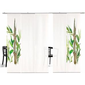 Emotion Textiles Schiebegardine  »Bambus HA«, H/B 260/60 cm, grün