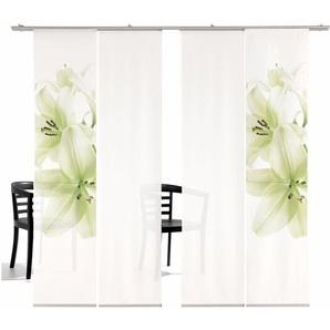 Emotion Textiles Schiebegardine  »Lilie HA«, H/B 260/60 cm, grün