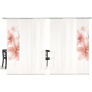 Emotion Textiles Schiebegardine  »Lilie HA«, H/B 260/60 cm, rosa