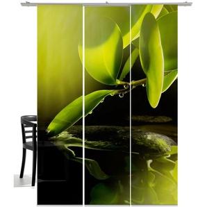 Emotion Textiles Schiebegardine  »Morgentau«, H/B 260/60 cm, grün
