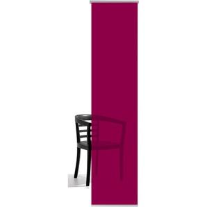 Emotion Textiles Schiebegardine  »Unifarben«, H/B 260/60 cm, lila