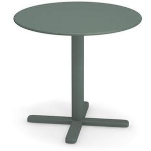 Emu - Darwin Tisch rund - dunkelgrün - Ø 80 - outdoor