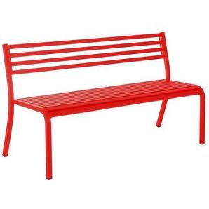 emu Segno 3-Sitzerbank 168cm Stahl Rot