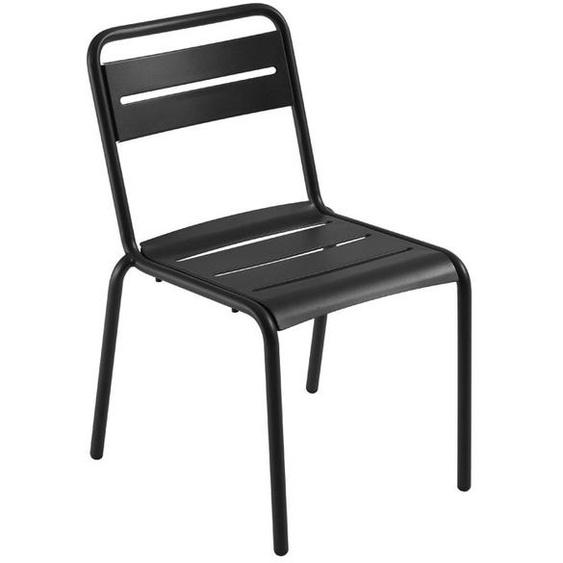 Emu - Stuhl Star - schwarz - outdoor