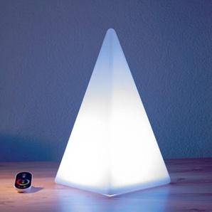 Epstein-Design Pyramide 54 RGB LED Akkuleuchte, Rückläufer