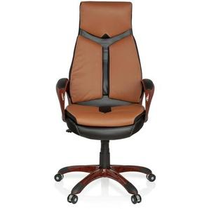ERGO 100 - Home Office Chefsessel Braun / Schwarz
