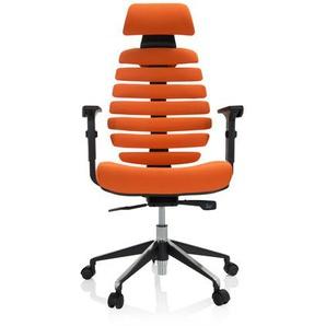 ERGO LINE II PRO | Stoff - Profi Bürostuhl Orange