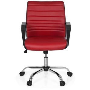 ERGOSMOOTH - Home Office Bürostuhl Rot / Schwarz