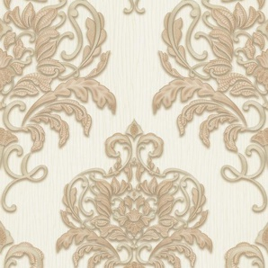 Erismann Vliestapete Spotlight, 10,05 x 0,53m Muster/Motiv B/L: 0,53 m beige Vliestapeten Tapeten Bauen Renovieren
