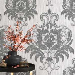 Erismann Vliestapete Spotlight, 10,05 x 0,53m Muster/Motiv B/L: 0,53 m grau Vliestapeten Tapeten Bauen Renovieren