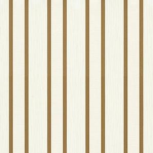 Erismann Vliestapete Spotlight, 10,05 x 0,53m Streifen/Wellen B/L: 0,53 m goldfarben Vliestapeten Tapeten Bauen Renovieren