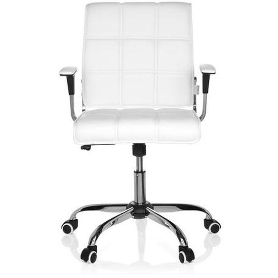 ERNESTO - Home Office Bürostuhl Weiß