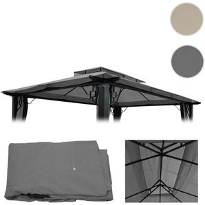 Ersatzbezug f�r Dach Pergola Pavillon Mira 4,5x3,5m ~ grau