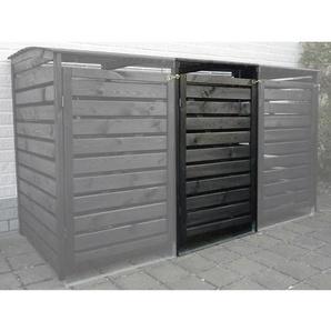 Erweiterung Mülltonnenbox Vario III Anthrazit