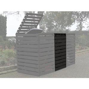 Erweiterung Mülltonnenbox Vario V Anthrazit