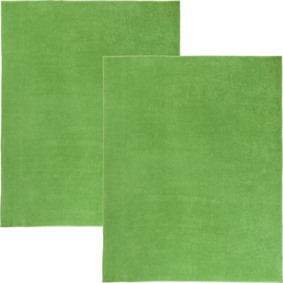 Erwin Müller Frottierdecke grün 2er-Pack