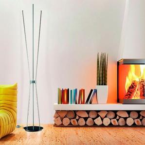 Escale LED-Stehlampe, Anthrazit, Alu, Eisen, Stahl & Metall