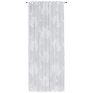 Esposa Fertigvorhang 135/245 cm , Weiß , Textil , 135x245 cm