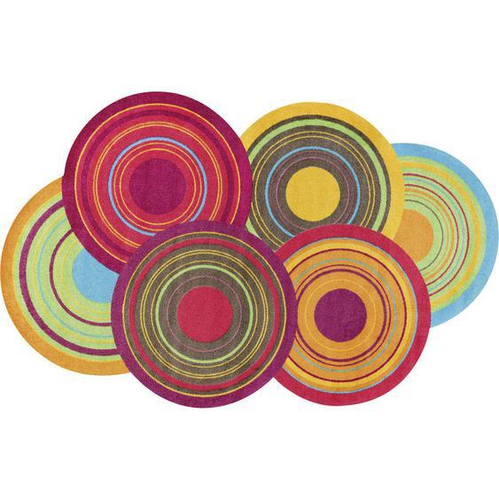 Esposa Fußmatte 110/175 cm Graphik Mehrfarbig , Mehrfarbig , Textil , 110 cm