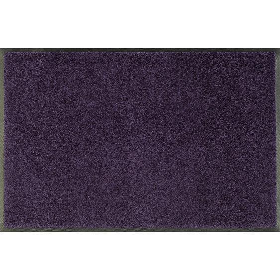Esposa Fußmatte 60/180 cm Uni Lila , Textil , 60 cm