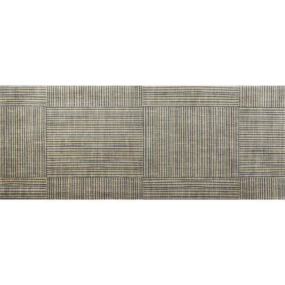 Esposa Fußmatte 80/200 cm Graphik Beige , Textil , 80 cm