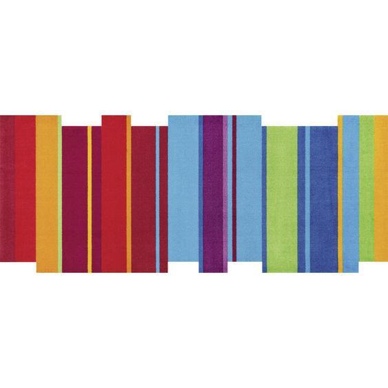 Esposa Fußmatte 80/200 cm Graphik Mehrfarbig , Mehrfarbig , Textil , 80 cm