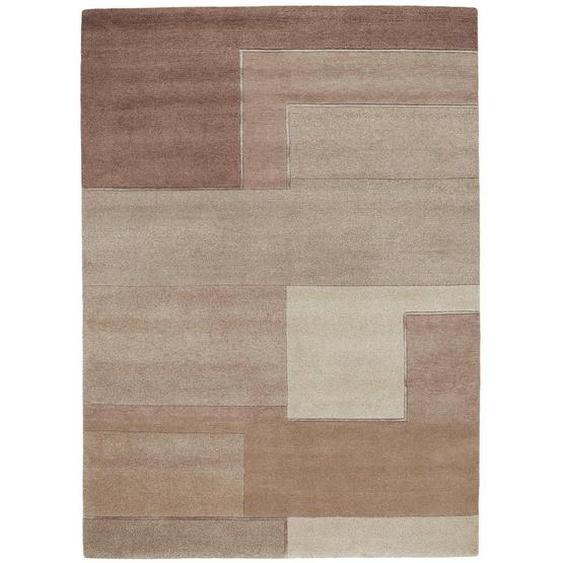 Esposa Orientteppich 140/200 cm Braun , Textil , Patchwork , 140 cm