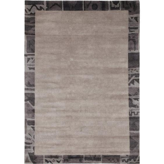 Esposa Orientteppich 140/200 cm Grau , Textil , Bordüre , 140 cm