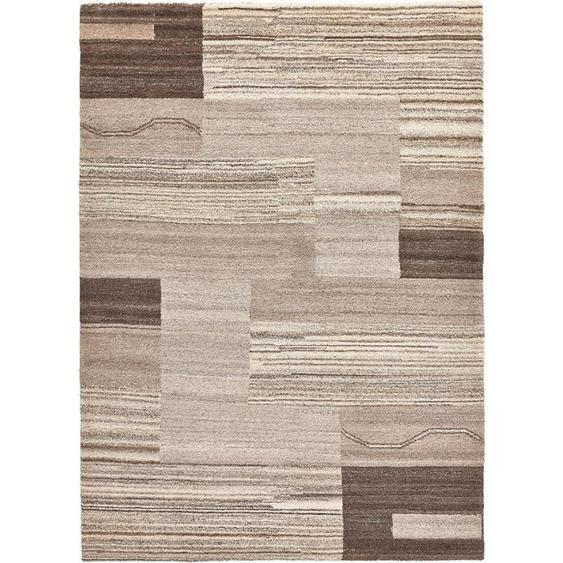 Esposa Orientteppich 170/240 cm Beige, Braun , Textil , Abstraktes , 170 cm