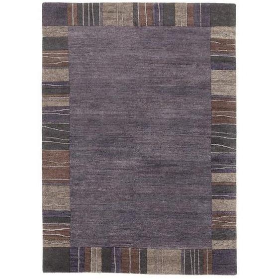 Esposa Orientteppich 90/160 cm Grau , Textil , Bordüre , 90 cm