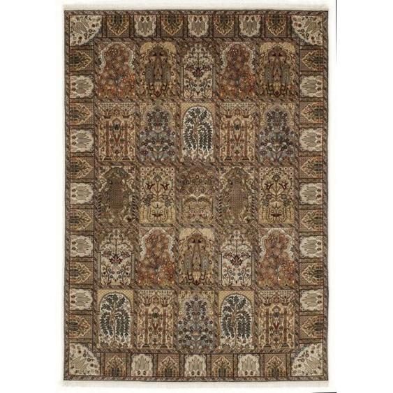 Esposa Orientteppich 95/150 cm Beige , Textil , Bordüre , 95 cm